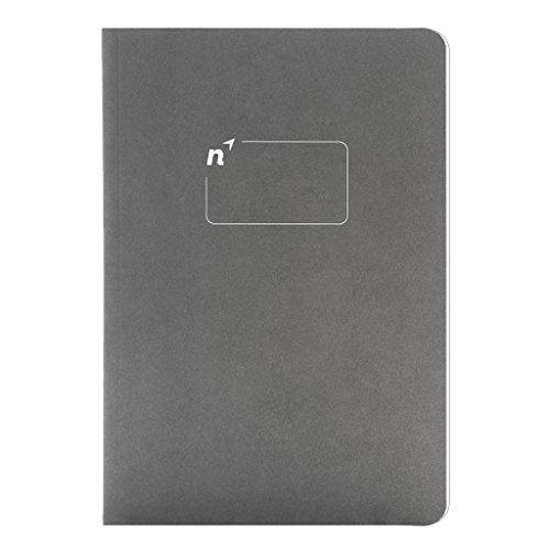 Northbooks A5 Blank Notebook Journal   5.8� x 8.2� Unlined Notebooks Plain Journals   Soft Cover Eco-Friendly Premium Recycled Cream Color Paper 144-Pages   Made in USA