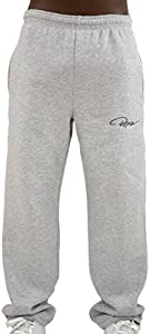 Pantalones de chándal Redum informales, color negro, antracita, gris, hasta la talla 6XL gris XXL