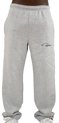 REDRUM Jogginghose Sweatpants Sport Fitness Casual - Modell Plain - in Schwarz Anthrazit Grau (XXL, Grau)
