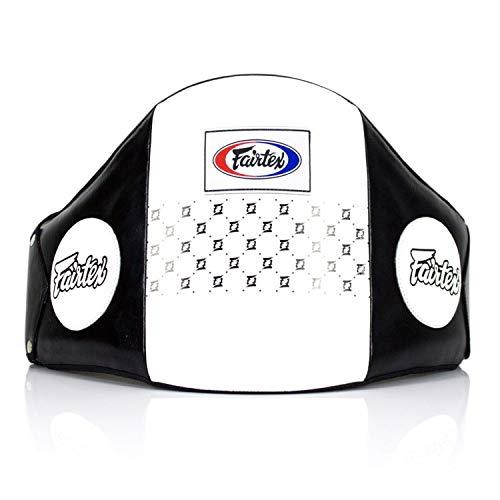 Fairtex BPV1 - Protezione per pancia in pelle per Muay Thai