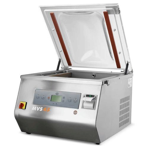 Read About Minipack MVS 45XII (MV 45II VacBasic) Dual Sealing Bar Chamber Vacuum Sealer Machine