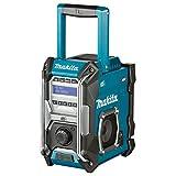 Makita MR003GZ Baustellenradio Dab+, UKW AUX, Dab+, UKW spritzwassergeschützt, stoßfest Nero, T