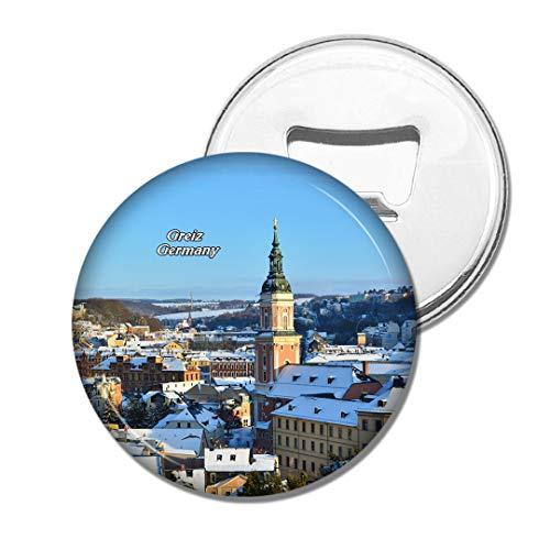 Weekino Deutschland Thüringen Greiz Bier Flaschenöffner Kühlschrank Magnet Metall Souvenir Reise Gift