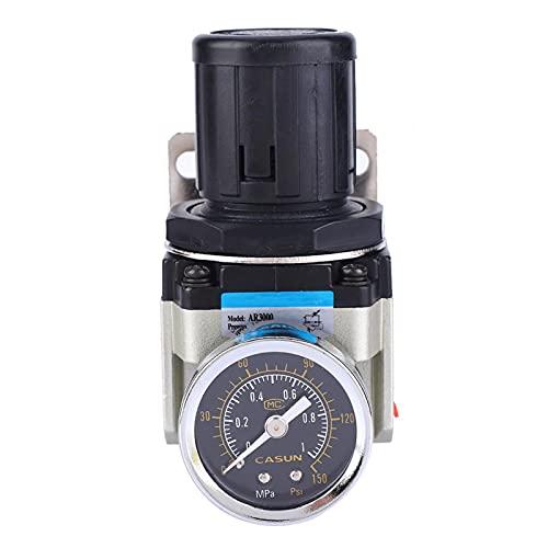 LANTRO JS - AR3000-02 SMC Druckminderer, Luftdruckminderer, SMC Überlauf Typ Druckminderer G1/4-10-60℃℃