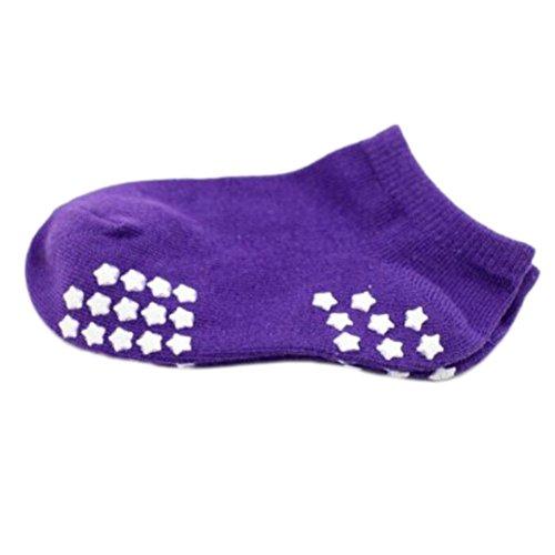 8 pares de calcetines antideslizantes para bebés recién nacidos Calcetines de bebé calientitos 9-12 CM para 0-1 año Baby-A10