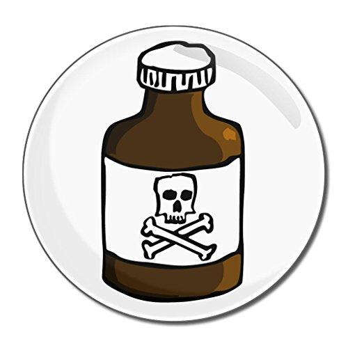 Poison Bottle - Miroir compact rond de 77 mm