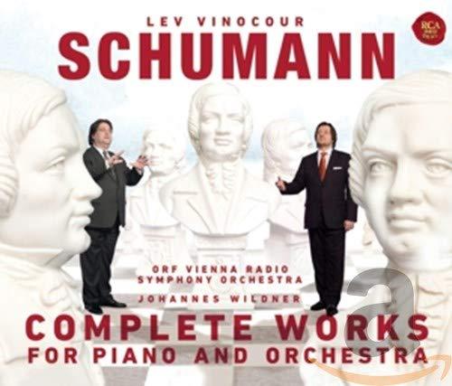 Schumann:Tutte Le Opere Per Piano E Orchestra [3 CD]
