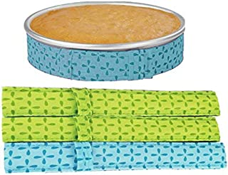 Cake Baking Strips Bake-Even Strips for Cake Pan Dampen Strip – Pack-of-4
