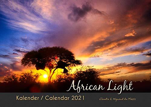 AFRICAN LIGHT 2021 - Afrika Kalender (A3 Querformat): Fotokalender der traumhaften Wildnis Namibias in atemberaubendem Licht.