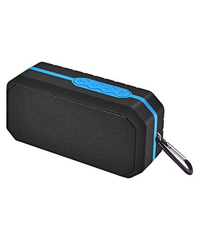 Sytech SY-X206BTAZ Altavoz Bluetooth resistente al agua, Azul