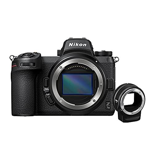 Câmera Fotográfica Nikon Z7 Mark II Body com Adapt FTZ