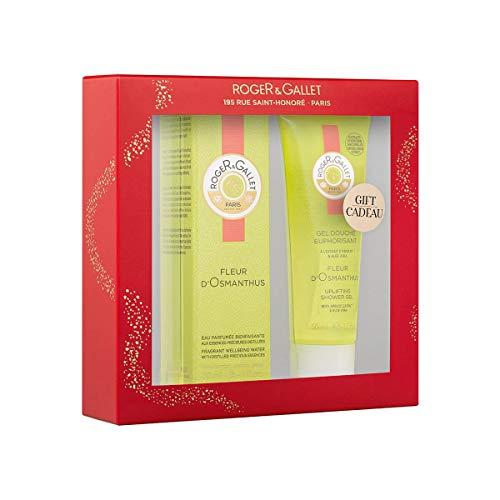 Roger Gallet Fleur De Osmantus Agua Fresca Perfumada, 30ml+REGALO Gel de Ducha, 50ml