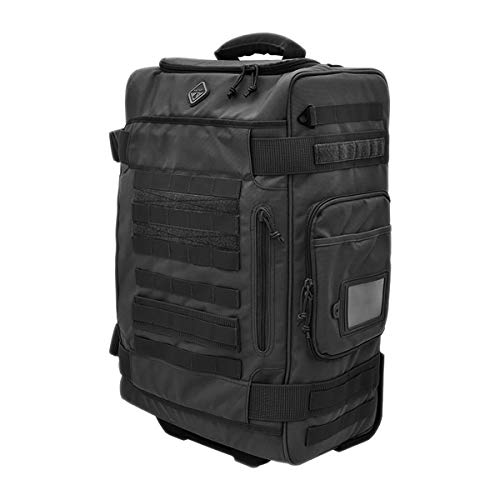 HAZARD4 ハザード4 Air Support 2020 ラギッド ローリング キャリーオン スーツケース/トロリーケース(ワンサイズ BLACK)