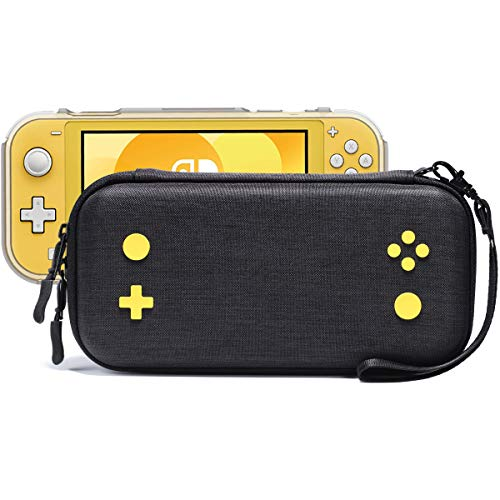 Rayvol Slim Case for Nintendo Switch Lite, Fits 16 Game Cartridges and Protective Case, Portable Hard Shell Cover Carrying Bag Travel Pouch