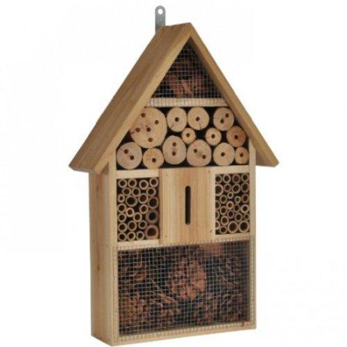 iapyx Insektenhotel Insektenhaus Nist und Überwinterung Bienen Marienkäfer Schmetterlinge u.a. nützliche Insekten