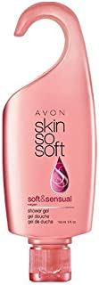 Bundle of 5 of Avon Skin so Soft Soft and Sensual Shower Gels 5 Fluid Ounces
