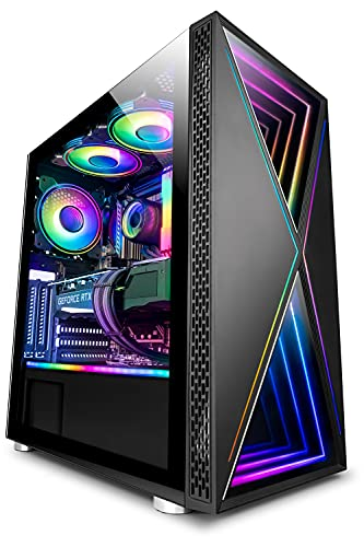 Vibox VI-41 PC Gamer SG-Series - 10e Gén 8-Core Intel i7 Processeur - Nvidia RTX 3070 Ti 8Go Carte Graphique - 32Go RAM - 1To NVMe M.2 SSD - Windows 10 - WiFi