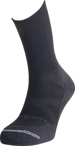 Lorpen Coolmax Light Hiker Socks (Black) - Large