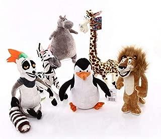EOFK Wholsale Madagas Plush Toys Lion Penguin Zebra Hippo Memur for Kids Boys Super Quality Plush Toy Baby Boy Must Haves BFF Gifts The Favourite DVD Superhero Classroom