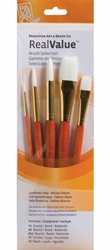 Princeton Artist Brush, Set 9152 5-Pc White Taklon