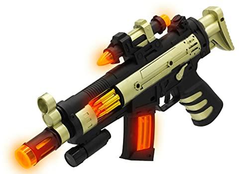Maschinengewehr L3072 Gewehr Licht & Sound Pistole Spielzeugpistole Elektrisch