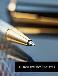 Disbursement Register