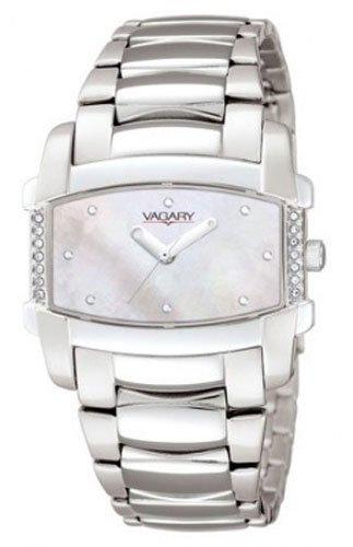 Vagary IK6-612-11 - Reloj, Correa de Acero Inoxidable Chapado Color Metalizado