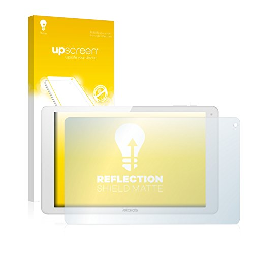 upscreen Entspiegelungs-Schutzfolie kompatibel mit Archos 101b Xenon – Anti-Reflex Bildschirmschutz-Folie Matt