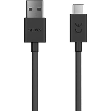 Sony 1307 9952 Ucb20 Usb C Auf Usb A Kabel Schwarz Elektronik
