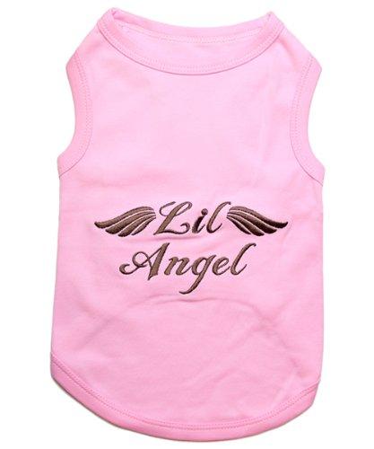 Parisian Pet Lil Angel Dog T-Shirt, Large