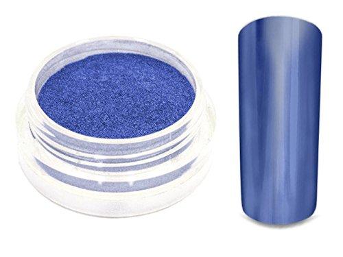 Chrom Pigment Mirror Spiegeleffekt Puder 1g Blau -7627