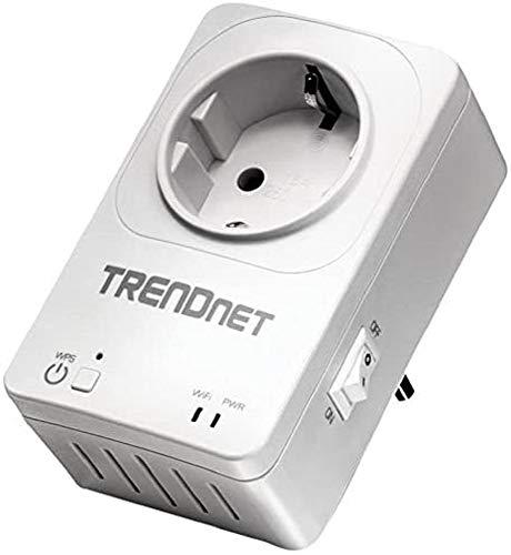 TRENDnet THA-101 - Switch con Extensor Wireless, Toma de Enc