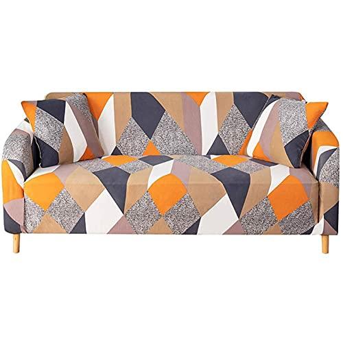 SUODOU Funda elástica para sofá de 3 tipos para sala de estar, jacquard grueso, funda de sofá seccional, funda protectora de muebles para sofá
