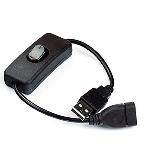 KKAAMYND Cable USB Macho a Hembra con Interruptor de Encendido/Apagado Cable Extensor...