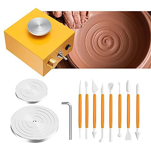 4YANG Mini rueda de cerámica Mini máquina de cerámica eléctrica de la...