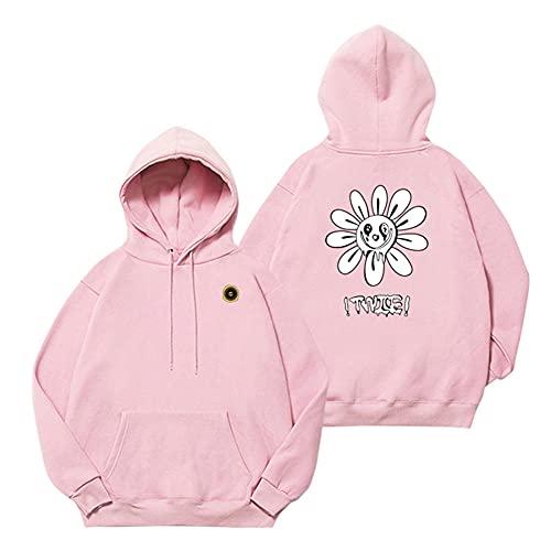 KPOP Merchandise Twice Sudadera con Capucha - Suéter de Felpa de algodón del Quinto...