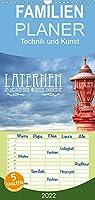 Laternen im Design der Wiener Moderne - Familienplaner hoch (Wandkalender 2022 , 21 cm x 45 cm, hoch): Beleuchtung in Jugendstilformen (Monatskalender, 14 Seiten )