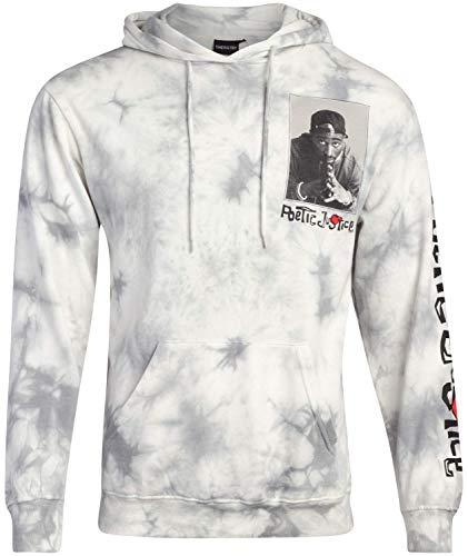 Poetic Justice Men's Sweatshirt - Cult Classic Poetic Justice Tupac Film Hoodie, Tupac Poetic Justice, Size Large