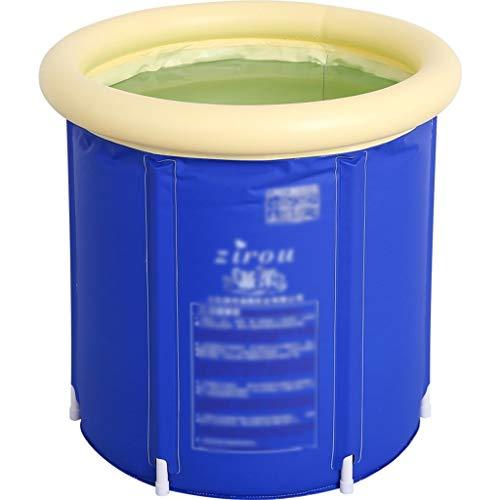 Vasca da bagno pieghevole vasca portatile Plástico con patas de baño de hidromasaje plegable SPA Bañera for adultos Calidad de inmersión profunda Bañera con pies de drenaje de la bomba for inflar con