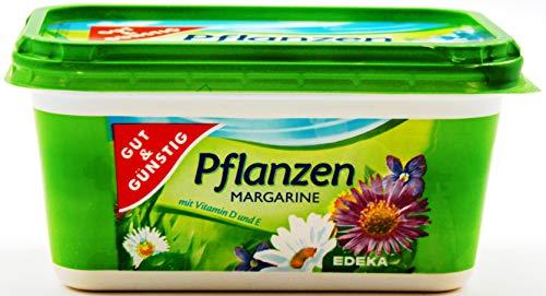 Gut und Günstig Pflanzen-Margarien, 16er Pack (16 x 500g)