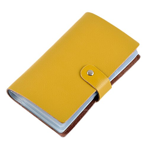 Boshiho Leather Credit Card Holder Business Card Case Book...