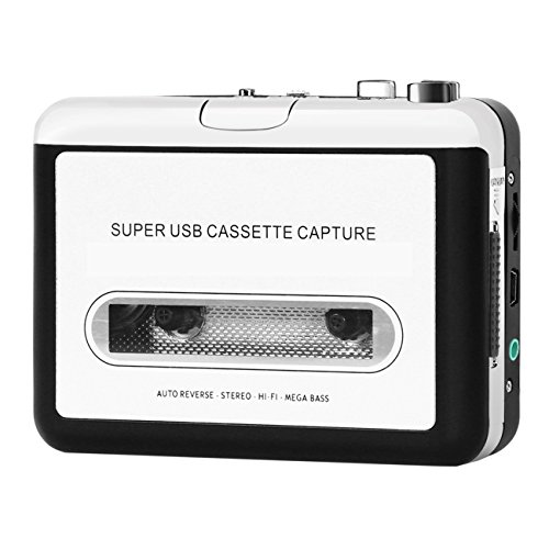 InVaFoCo Kassette zu MP3 Konvertierer Tragbarer Kassettenspieler Audio Kassette Recorder - Kassetten Digitalisieren Konverter