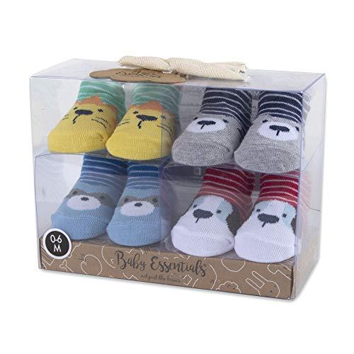 Calcetines de bebé de dinosaurio, unicornio y animales de 0 a 3 a 6 meses para niños y niñas,  Juegos de animales, Small