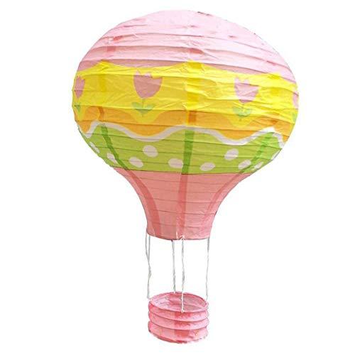 Forbestest 12 Zoll 30cm Hanging Heißluft-Ballon-Papier Festival-Party-Laterne-Geburtstag Hochzeit Weihnachtsfest-Dekoration