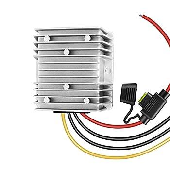 Golf Cart 120W 48V 36V to 12V 10A Converter Voltage Regulator Golf Cart Voltage Converter Reducer Transformer Waterproof