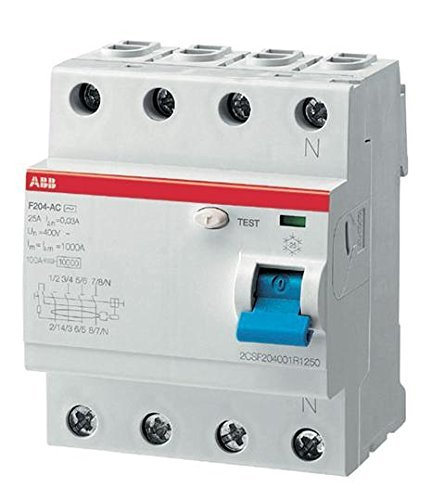 ABB F204 A-25/0.03 - circuit breakers (230/400) by ABB