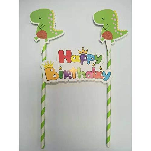 Juego de manteles de papel para fiestas de cumpleaños para niños, diseño de dinosaurios
