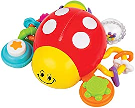 KiddoLab Lilly The Bug, Press & Crawl Musical Activity Toy. Ladybug Baby Nursery Early Development Toy. Crawling Toys for Learning, Educational Toys Series. Toys for 6 Month Old and Up