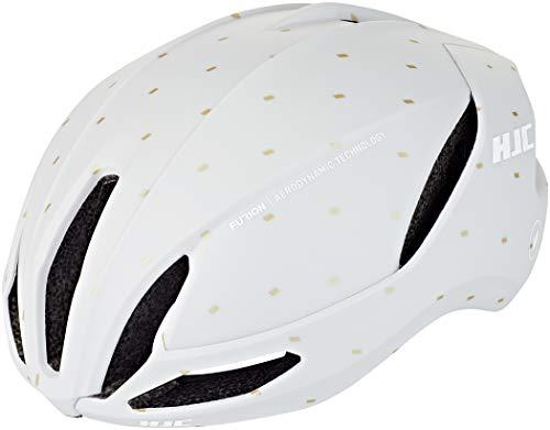 HJC Furion 2.0 Road Helm matt Off White/Gold Kopfumfang L | 58-63cm 2020 Fahrradhelm