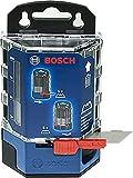 Bosch Professional - Cuchillas de repuesto para cúter (50 uds, trapezoidales, en dispensador)